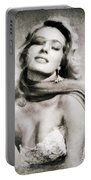 Anita Ekberg, Hollywood Legend By John Springfield Portable Battery Charger