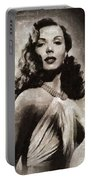 Ann Miller, Vintage Actress Portable Battery Charger