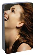 Anne Hathaway Portable Battery Charger