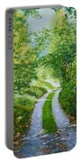 Annecy Forest Afternoon Portable Battery Charger