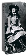 Annie Oakley  Star Of Buffalo Bill's Wild West Show Portable Battery Charger