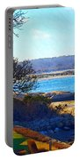 Annisquam Winter Sun  Portable Battery Charger