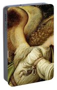 Announcing Angel, Detail From Annunciation Portable Battery Charger