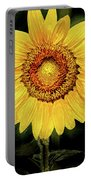 Another Artistic Sunflower Portable Battery Charger
