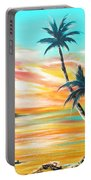 Another Sunset In Paradise Portable Battery Charger