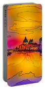 Another Surreal Venice Sunset Portable Battery Charger