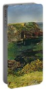 Anstey's Cove In Devon Portable Battery Charger by John William Inchbold