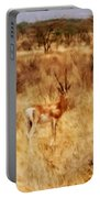 Antelope In Kenya Portable Battery Charger