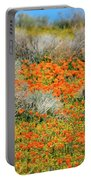 Antelope Valley Poppies Portable Battery Charger