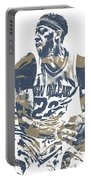 Anthony Davis New Orleans Pelicans Pixel Art 21 Portable Battery Charger