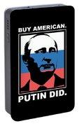 Anti Trump Art Impeach President Resist Putin Dark Portable Battery Charger