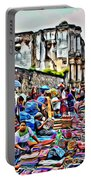 Antigua Market Portable Battery Charger