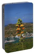 Antigua National Flower  Portable Battery Charger