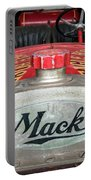 Antique 1930 Mack Bc-cd Fire Truck Portable Battery Charger