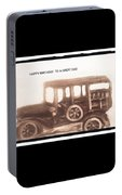 Antique Car For Dads Day Portable Battery Charger