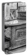 Antique Cash Register Portable Battery Charger