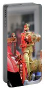 Antique Fire Truck Portable Battery Charger
