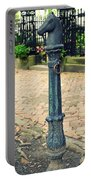 Antique Hitching Post Portable Battery Charger