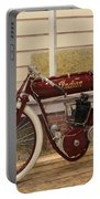 Antique Indian Motorcycle Red...   # Portable Battery Charger