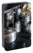 Antique Kitchen Stove Portable Battery Charger