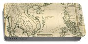 Antique Map Of South East Asia Portable Battery Charger