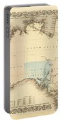 Antique Maps - Old Cartographic Maps - Antique Map Of Australia Portable Battery Charger