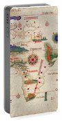 Antique Maps - Old Cartographic Maps - Antique Map Of The World, 1502 Portable Battery Charger