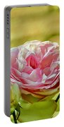 Antique Pink Rose Portable Battery Charger