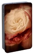 Antique Rose - In Full Bloom Portable Battery Charger