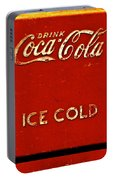 Antique Soda Cooler 6 Portable Battery Charger