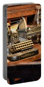 Antique Typewriter Portable Battery Charger