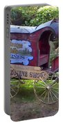 Antique Wine Wagon Portable Battery Charger