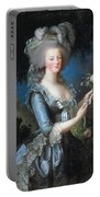 Antoinette With The Rose Marie Portable Battery Charger