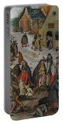 Antwerp The Seven Acts Of Mercy Portable Battery Charger