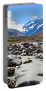 Aoraki Mount Cook Hooker Valley Southern Alps Nz Portable Battery Charger