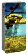 Apache Ai Assault - Operation Desert Wolves Portable Battery Charger