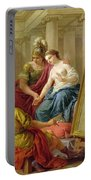 Apelles In Love With The Mistress Of Alexander Portable Battery Charger