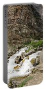 Apikuni Falls Portable Battery Charger by Margaret Pitcher