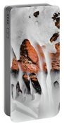Apostle Islands Icicles Macro Portable Battery Charger