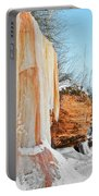 Apostle Islands Waterfall Portrait Portable Battery Charger