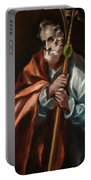 Apostle Saint Thaddeus, Jude Portable Battery Charger