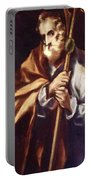 Apostle St Thaddeus Jude Portable Battery Charger