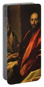 Apostles Peter And Paul 1592 Portable Battery Charger