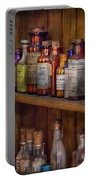 Apothecary - Inside The Medicine Cabinet  Portable Battery Charger