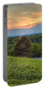 Appalachian Evening Portable Battery Charger