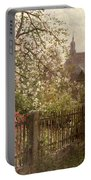 Apple Blossom Portable Battery Charger by Alfred Muhlig