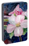 Apple Blossom - Painting Portable Battery Charger