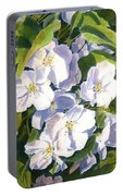 Apple Blossom Time Portable Battery Charger