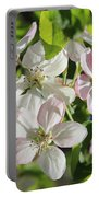 Apple Blossoms Square Portable Battery Charger