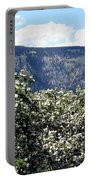 Apple Blossoms Portable Battery Charger by Will Borden